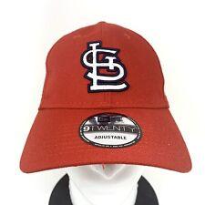 New Era ST LOUIS CARDINALS Men's MLB Strapback Dad Hat Baseball Cap Red