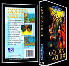 Golden Axe 2 - Sega Genesis Reproduction Art Case/Box No Game.