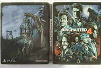 Uncharted 4: A Thief's End - Special Steelbook Edition (Sony PlayStation 4, PS4)