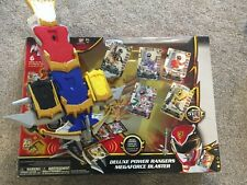 POWER RANGERS MEGAFORCE DELUXE BLASTER 2013 BANDAI NEW TOYS R US EXCLUSIVE
