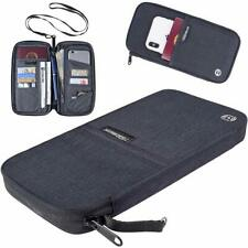 Travel Wallet Passport Holders-RFID Blocking Family Passport Wallets Document Or