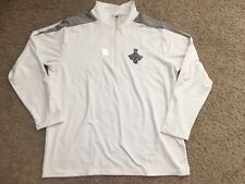 Antigua Men Kings Hockey White Pull Over Stanley Cup Champ 2012 XL long sleeve