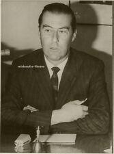 Orig. Photo, Sergio Ossa, Minister Chile, von 1968