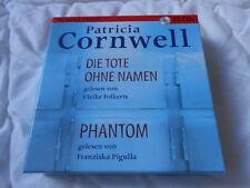 Hörbuch Patricia Cornwell, Die Tote ohne Namen, Phantom,  2 Krimi´s 10 CD´S