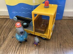 Peppa Pig Granddad Dog, Pick-up, Rescue, Recovery Truck, No Hook Or Doors