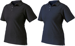 Dickies SH21600 Ladies Fitted Polo Shirt Workwear Casual Navy Black
