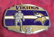 MINNESOTA VIKINGS PLAYER BELT BUCKLE NFL BUCKLES NEW