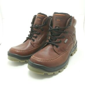 Ecco Men's Track IV High GTX Casual Hiking Leather Boots Gore-Tex Size US 8-8.5