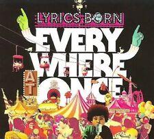 Lyrics Born : Everywhere at Once Rap/Hip Hop 1 Disc Cd