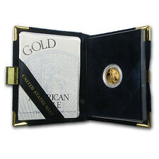 1999-W 1/10 oz Proof Gold American Eagle (w/Box & COA) - SKU #4930