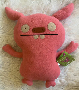 NWT UGLYDOLL - Puglee Pink Ugly Doll New Large