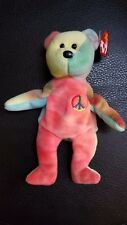 1996 Ty Beanie Baby Peace MWMT 4th Gen Tag Errors PVC Style 4053 Colors e014cb1a4f7