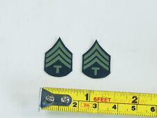 1:6 Figure US Infantry Technical Sergeant Badge Emblem Patch INSIGNIA DA265