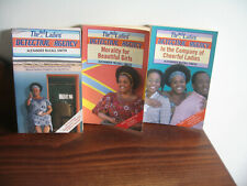 3 ALEXANDER McCALL SMITH NO 1 LADIES DETECTIVE AGENCY NOVELS