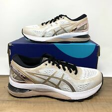 Asics Gel-Nimbus 21 Platinum White Frosted Almond 1012A608-100 Women's Size 7.5
