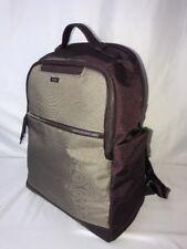 Tumi Womens Backpack Laptop Bag Boarding Tote Plum Burgundy Port Beige Tan Sarah