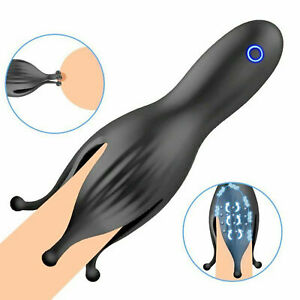 Male-Automatic-Training-Masturbator-Cup-Electric-Sex-For-Men Use Lubricants