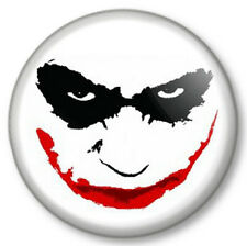 "The Joker Face 25mm 1"" Pin Button Badge Batman Dark Knight Heath Ledger Mask Fun"