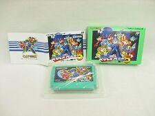 Rockman 5 Megaman GOOD Condition Ref/1324 Famicom Nintendo Japan Boxed Game fc