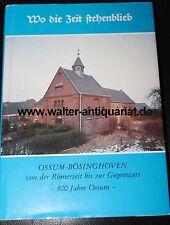 800 Jahre Ossum Bösinghoven 1986 mit Karte - Meerbusch bei Krefeld NRW