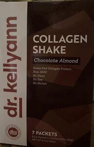 dr kellyann Collagen Shake (chocolate almond)--Grass-Fed collagen prote7 packets