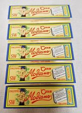 5 Packs SW Club Modiano Bistro Cigarette Rolling Papers Ungummed 50 Leaves Per