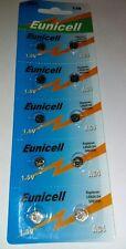 4 x ag4 lr626 377a sr626 lr66 177 Batterie per Orologi 1.5v CALCOLATRICE moneta cella