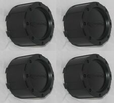 4 CAP DEAL EAGLE ALLOYS 3226 PRO COMP LOGO 3293 WHEEL RIM FLAT BLACK CENTER CAPS