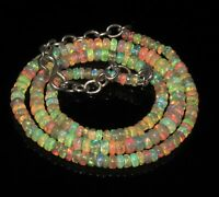 "50 Ctw 1Necklace 3to5 mm16"" Beads Natural Genuine Ethiopian Welo Fire Opal*T1388"