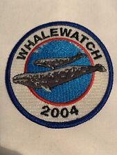 2004 Whale Watch Souvenir Patch