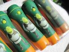 Dreamworks' Shrek Ultra Bright Flashlight Torch Flash Light Orange Green Ogre