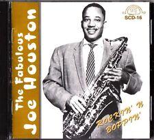 The Fabulous JOE HOUSTON: Rockin' N Boppin' - Jazz/Blues Saxophone CD (SCD-16)