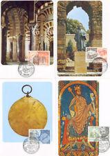 TARJETA MAXIMA PATRIMONIO HISPANO ISLAMICO EDIFIL 2869/72 MAXIMUM CARD   TC11914