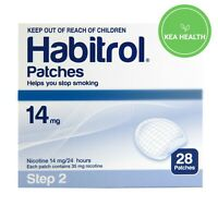 Habitrol Nicotine Patch STEP 2 - 14mg - 28 patches - 1 box - QUIT Smoking Now