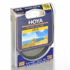 Hoya 58mm Circular Polarizing CIR-PL CPL FILTER fit for Canon Nikon Sony Lenses