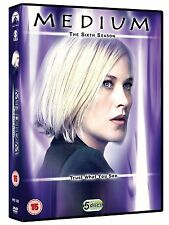 Medium - Season 6 DVD Patricia Arquette Miguel Sandoval Brand New and Sealed
