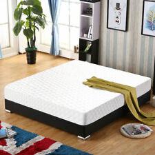 "New Queen Size 10"" Memory Foam Mattress Pad Bed Topper 2 Free Pillows"