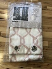 "Exclusive Home Curtains Kochi Blush Grommet Curtain Panels Pair 108""X52"" 2 Piece"