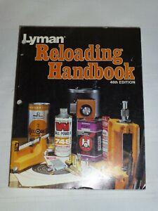 LYMAN RELOADING HANDBOOK 46TH EDITION SOFT COVER