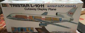 Vintage 1973 1/144 Revell Tristar L-1011 Cutaway Disply Plane.