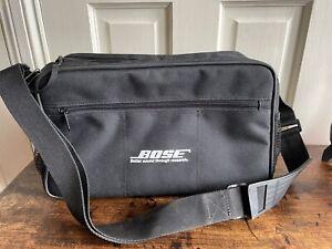 Genuine Bose SoundDock Ipod Dock Case Bag Never Used Sound System Dock Carrier