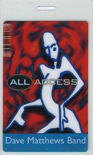 Dave Matthews Band 1996 Autumn Tour Laminated Backstage Pass