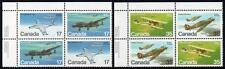 CANADA MNH 1980 Canadian Aircraft Block of 4