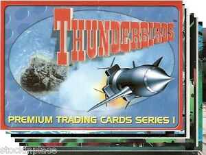 THUNDERBIRDS Trading Cards BUY ONE CARD get NINE FREE! (Your Choice) Cards 01-35