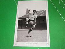 Derby County Johnny Morris Edición limitada firmada (64 de 75) impresión fotográfica