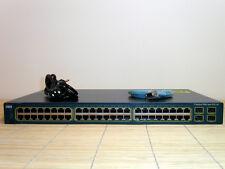 Cisco Catalyst WS-C3560-48PS-S 48x port PoE +4x Gbit Uplink Switch w. L3 EMI IOS