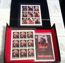 Jerry Garcia limited edition commemorative Stamps