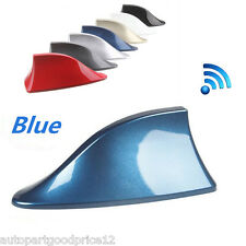 Auto Car Exterior Top Roof Aerial Shark Fin Style FM/AM RV Radio Signal Antenna