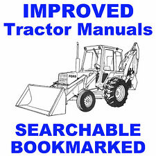 FORD 550 LOADER BACKHOE TRACTOR PARTS CATALOG MANUAL - SEARCHABLE - INDEXED CD
