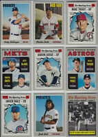 2019 Topps Heritage Complete Base Set (400 Cards) ALL SLEEVED Mike Trout 1-400